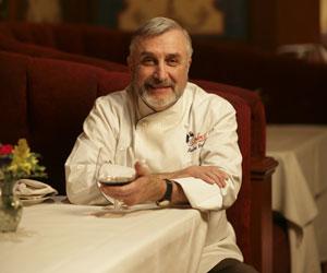 Chef André Rochat of Alizé