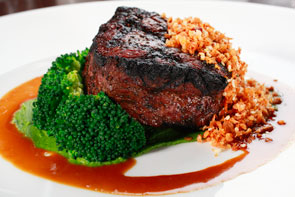aria_jean_georges_steakhouse_steak_and_broccoli