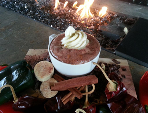Green Chile Hot Chocolate